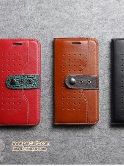 เคสหนังวัวแท้ Apple iPhone 6/6s, 6Plus/6s Plus, 7 และ 7 Plus จาก FIERRE SHANN [หมด]