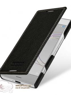 เคสหนังวัวแท้สุดหรู Sony Xperia XZ1 Compact จาก TETDED [Pre-order]