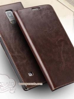 เคส Samsung Galaxy Note 4 หนังแท้จาก QIALINO [Pre-order]