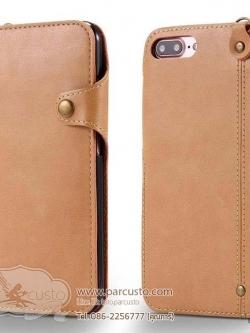 เคสหนัง PU Apple iPhone 7 และ 7 Plus จาก Mongolia [Pre-order]