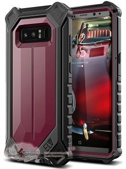 เคสกันกระแทก Samsung Galaxy Note 8 [Holster Defender 360°] จาก ELV [Pre-order USA]