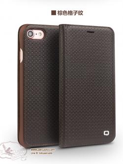 เคสหนังแท้ Apple iPhone 7 และ 7 Plus (มีลาย) จาก QIALINO [Pre-order]