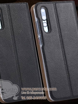 เคสหนัง Huawei P20 และ P20 Pro (กรุณาระบุ) จาก Daymony [ Pre-order]