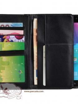 เคส Samsung Galaxy Note 4 Multi-Fold Leather Wallet จาก ZC [หมด]