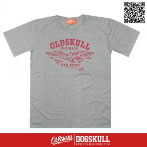 เสื้อยืด OLDSKULL: ULTIMATE | GREY