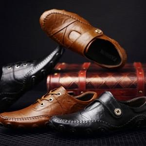 รองเท้าหนังลำลอง MMS2133