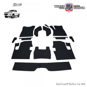พรมกระดุม Super Save รถ Toyota Revo Cab ปี 2015-2019 เกียร์ Auto ชุด Full จำนวน 13 ชิ้น