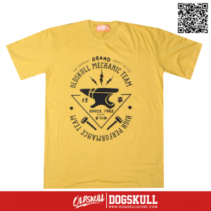 เสื้อยืด OLDSKULL: ULTIMATE HD | YELLOW
