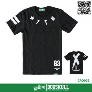 เสื้อยืด 7TH STREET - รุ่น Cross Back | Black