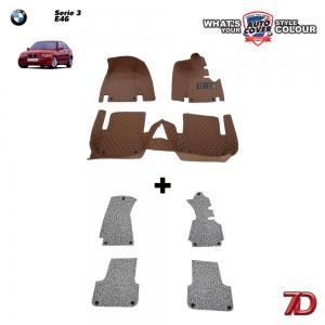 พรมรถยนต์ 7 D Anti Dust รถ BMW SERIES 3 (E46) 318i , 320i , 325i
