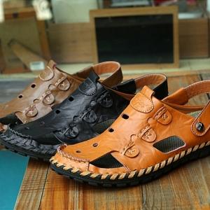 รองเท้าหนังลำลอง MMS2138