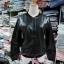 แจ๊คเก๊ต แขนยาว ซิปหน้า หนังPU สีดำ(มีภาพ) thumbnail 2