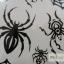 YM-X089 สติ๊กเกอร์ลายสัก tattoo ลายแมงมุม18 x 7 cm thumbnail 4