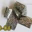 ฟอยล์ติดเล็บ ลายสีเงินดำ รหัส SD Nails foils เลือกสีด้านใน ขนาด 4X40 เซน thumbnail 8