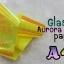 กระดาษแก้วออโรรา Glass Aurora Paper 2 เลือกสีด้านใน thumbnail 4