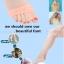 ซิลิโคนถนอมนิ้วเท้า แก้อาการนิ้วเท้าโก่ง ( x 3 คู่) thumbnail 12