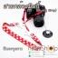 สายคล้องกล้องมิกกี้ Mickey Strap สีแดง thumbnail 4