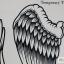 รหัส A สติ๊กเกอร์แทททู ขนาดใหญ่ 30 x 21 cm คลิกเลือกลายด้านใน thumbnail 10