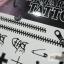 YM-K075 สติ๊กเกอร์สักแฟชั่น sticker tattoo ลายซิบ ไม้กางเขน 15.5x10.8 cm thumbnail 9
