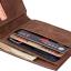 กระเป๋าใส่เงิน MJ-06 กระเป๋าหนัง Baborry สีน้ำตาล thumbnail 6