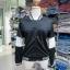 เสื้อคลุม แขนยาว ผ้าฝ้าย แต่งแถบ สีดำ (มีถาพจริง) thumbnail 2