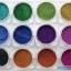 Holographic colorful glitter powder ผงรุ้งกากเพชร ฮอโลกราฟี ชุด12สี thumbnail 2