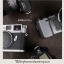 สายคล้องกล้องลดแรงกดคอ ไม่ปวดคอ ไม่ปวดไหล่ สีน้ำตาลเข้ม thumbnail 2