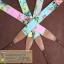 สายคล้องกล้องลายดอกไม้สีสดใส cam-in Broom flower Pastel thumbnail 6