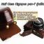 เคสกล้องหนัง Olympus pen-f รุ่น เปิดแบตได้ Case Olympus pen f ใช้ได้ทั้ง Full และ Half Case thumbnail 12