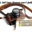 เคสกล้องหนัง Olympus pen-f รุ่น เปิดแบตได้ Case Olympus pen f ใช้ได้ทั้ง Full และ Half Case thumbnail 13