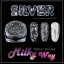 Silver Milky Way glitter powder ผงเกร็ดทางช้างเผือก สีเงิน thumbnail 1