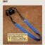 สายกล้องคล้องคอ - รุ่นกันลื่น ขนาด 25 mm สีน้ำเงินสว่าง ปลายดำ thumbnail 7