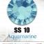 เพชรสวารอฟสกี้แท้ ซองใหญ่ สีฟ้า Aquamarine รหัส 202 คลิกเลือกขนาด ดูราคา ด้านใน thumbnail 3