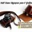เคสกล้องหนัง Olympus pen-f รุ่น เปิดแบตได้ Case Olympus pen f ใช้ได้ทั้ง Full และ Half Case thumbnail 11