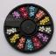 ดอกไม้พลาสติกทรงกลม ติดมุกตรงกลาง คละ6สี กล่องกลมดำ thumbnail 1