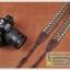 สายคล้องกล้องผ้าแฟชั่นสวยๆ แนวๆ รุ่น Zip Zap Brown thumbnail 2