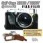เคสกล้องหนัง Half Case X100S X100Tฮาฟเคสกล้องหนัง X100S X100T รุ่นเปิดแบตได้ thumbnail 4