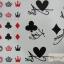 YM-K093 สติ๊กเกอร์สักแฟชั่น sticker tattoo ลายไพ่ 15.5x10.8 cm thumbnail 2