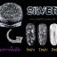 Silver Milky Way glitter powder ผงเกร็ดทางช้างเผือก สีเงิน thumbnail 2