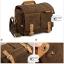 กระเป๋ากล้องหนังแท้ ผ้าแคนวาส มีหูหิ้ว Compact Window Bag Size M thumbnail 14