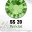 เพชรสวารอฟสกี้แท้ ซองใหญ่ สีเขียว Peridot รหัส 214 คลิกเลือกขนาด ดูราคา ด้านใน thumbnail 5