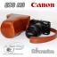 เคสหนัง Canon EOSM3, เคสกล้อง EOS M3 เลนส์ 55-200 , 18-55 mm thumbnail 1