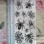 YM-X089 สติ๊กเกอร์ลายสัก tattoo ลายแมงมุม18 x 7 cm thumbnail 1