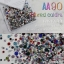 เพชรชวาAA คละสี Mixed colors รหัส AA-90 คละขนาด ss3 ถึง ss30 ปริมาณประมาณ 1300-1500เม็ด thumbnail 1