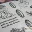 YM-K013 สติ๊กเกอร์สักแฟชั่น sticker tattoo ลายกามเทพ 15.5x10.8 cm thumbnail 8
