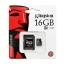 MICRO SD CARD kingston 16 GB thumbnail 1