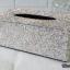 กล่องใส่ทิชชู่เพชร สีขาวผสมสีรุ้ง กว้าง15 ยาว26 สูง10 เซนติเมตร thumbnail 2