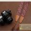 สายคล้องกล้องลายสตอเบอรี่น่ารัก Vintage black Strawberry thumbnail 2