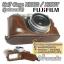 เคสกล้องหนัง Half Case X100S X100Tฮาฟเคสกล้องหนัง X100S X100T รุ่นเปิดแบตได้ thumbnail 2