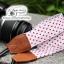 สายคล้องกล้อง Polka Dot พื้นขาว จุดแดง thumbnail 2